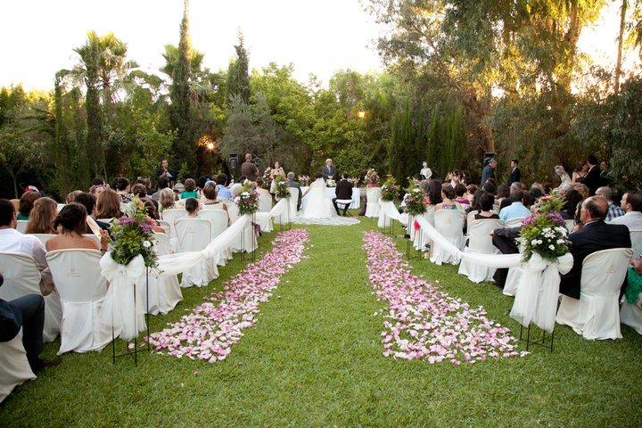 Boda civil de lo m s sevillano diario de una novia for Arreglo de boda en jardin