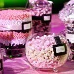 wedding candy bar favors - Que Tal un Buffet de Golosinas?