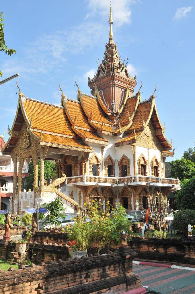 Chiang Mai wat-bupparam Viaje Tailandia