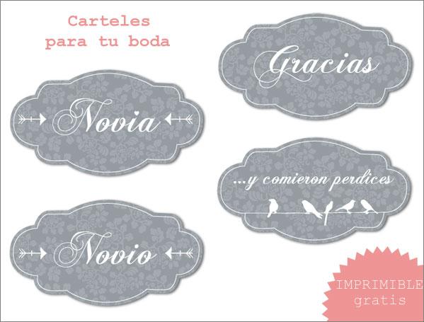 imprimible boda2 - Imprimibles: Flechas Señalizadoras