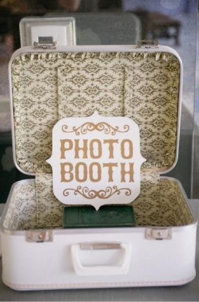 maleta photobooth - Las Maletas Vintage estan Totally de Moda!