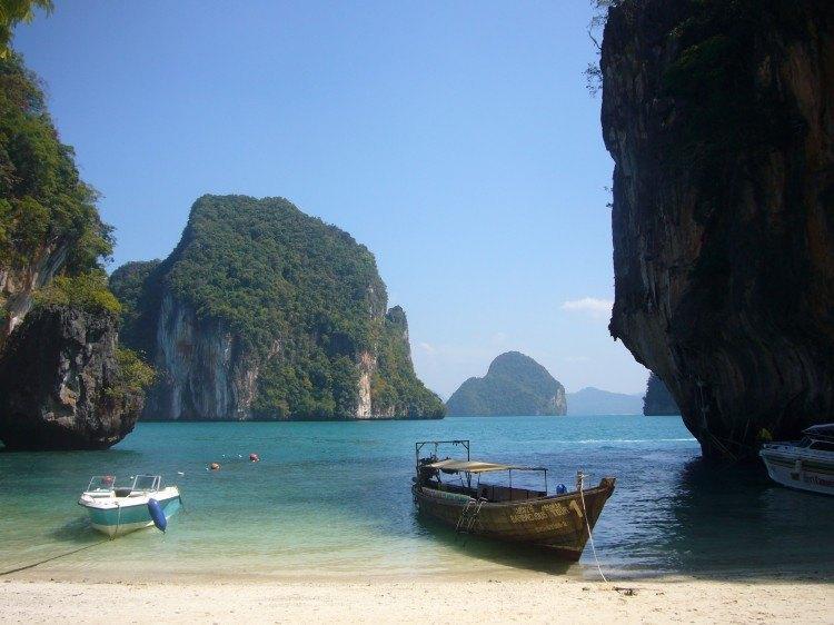 Mar de Andaman. Tailandia.
