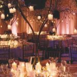 mesas decorados con velas