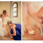 doble zapatos - El Día de nuestra Boda - Los Preparativos.