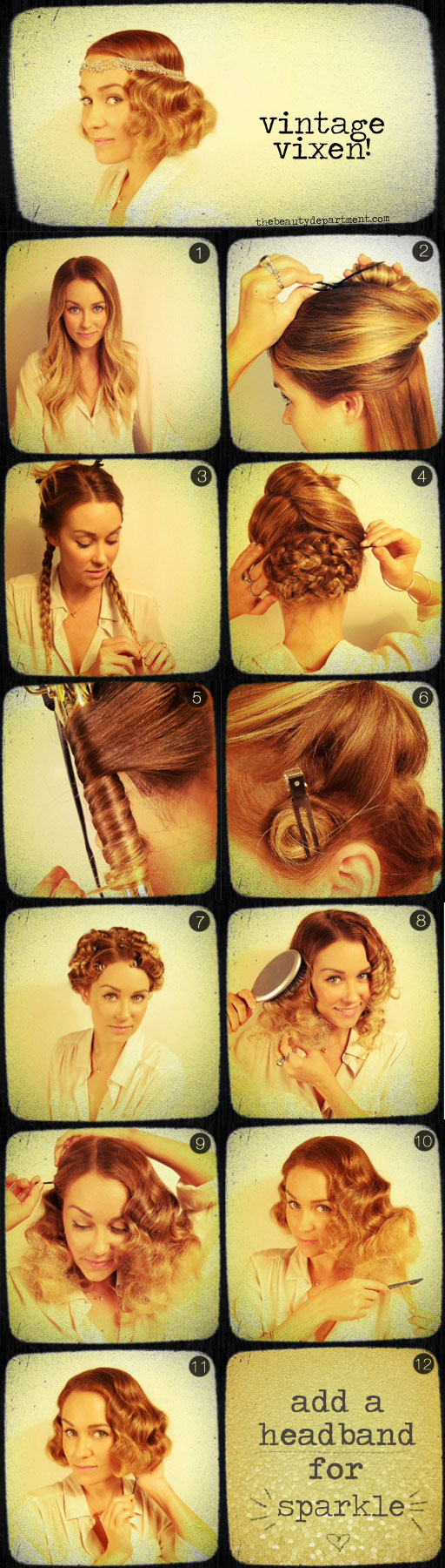 peinado vintage diy novia