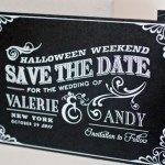 Halloween weddings bodas