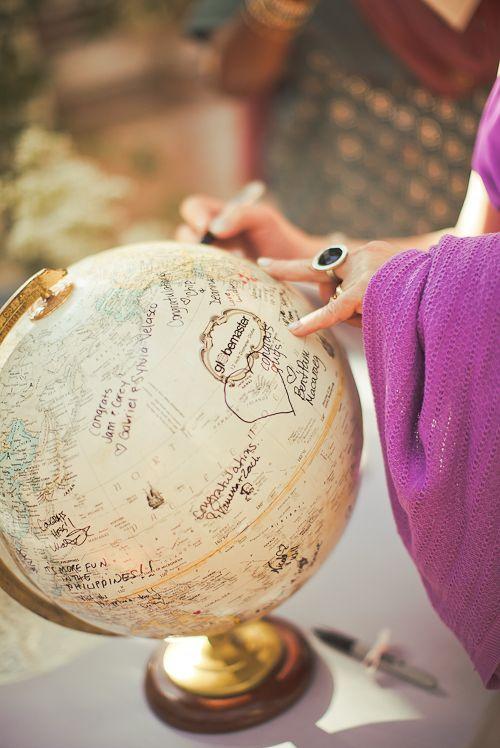 Libro de firmas mundo