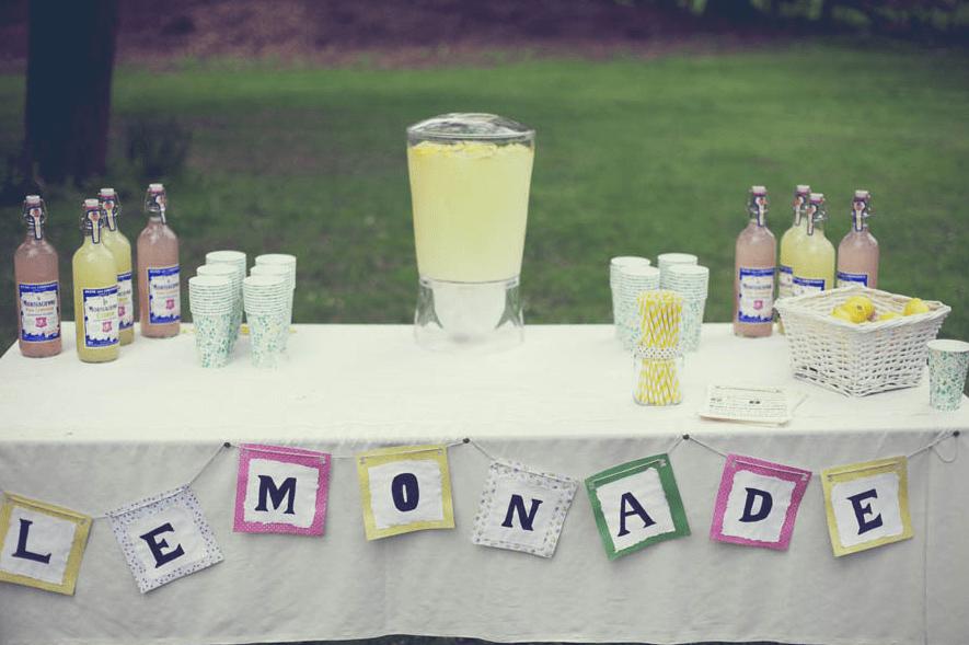 Barra de limonada