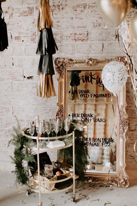 champan para boda en fin de ano - Cómo Organizar una Boda en Nochevieja