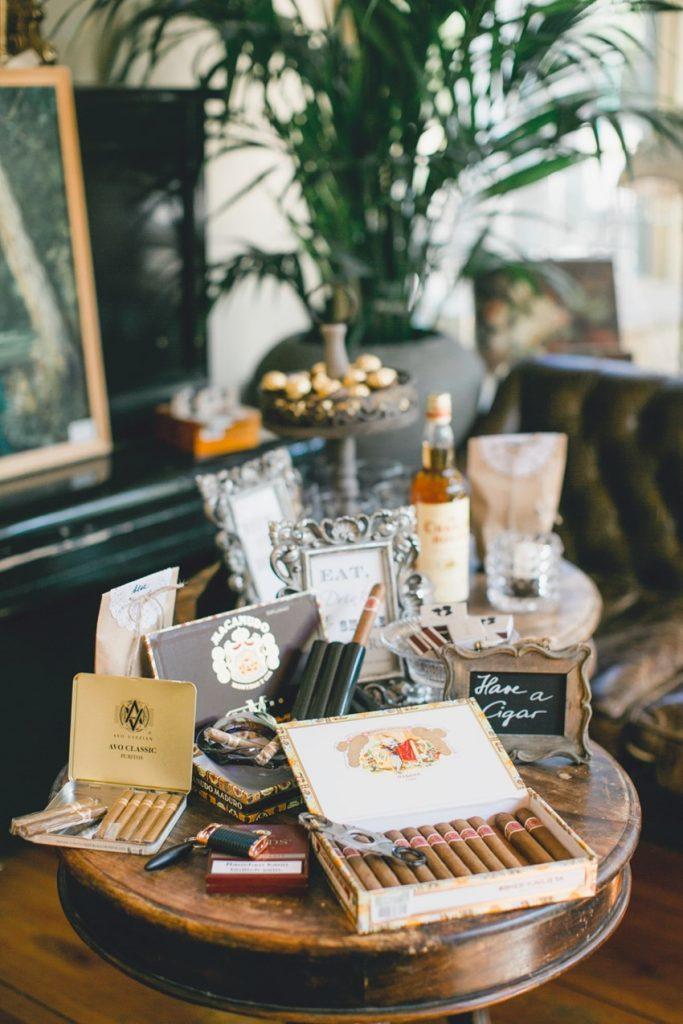 cigar corner para bodas