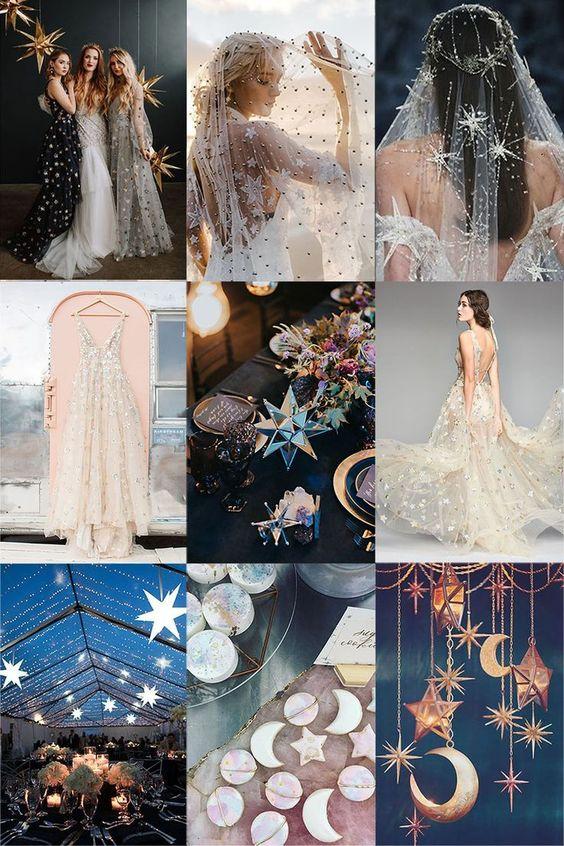 elegir los colores para una boda en nochevieja