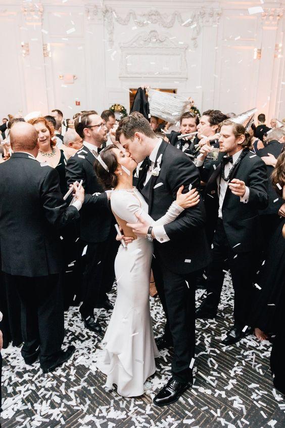 fiesta y boda en nochevieja