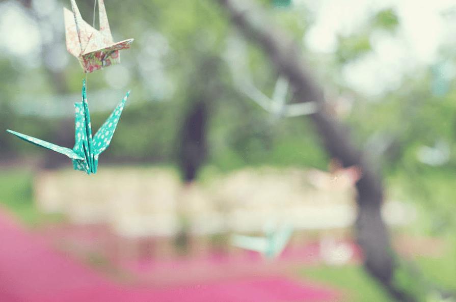 Origami boda