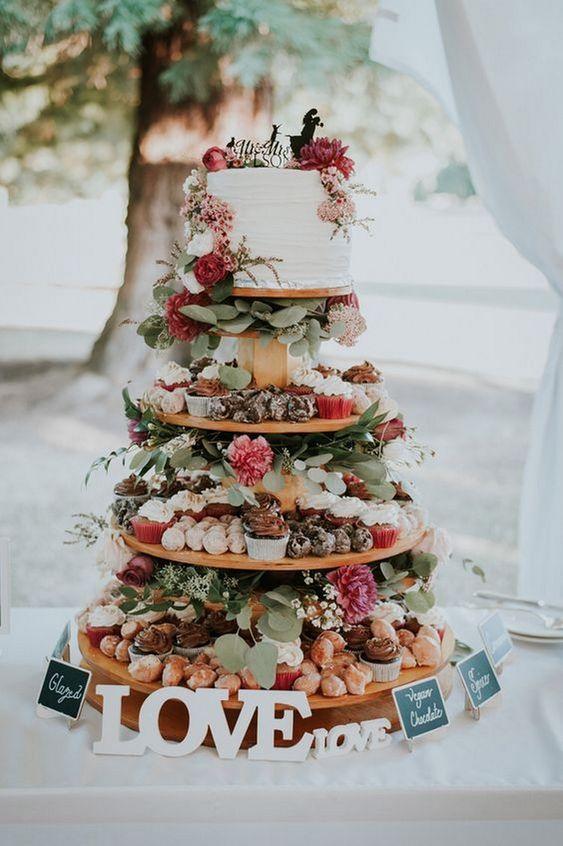 tarta pasteles para bodas originales