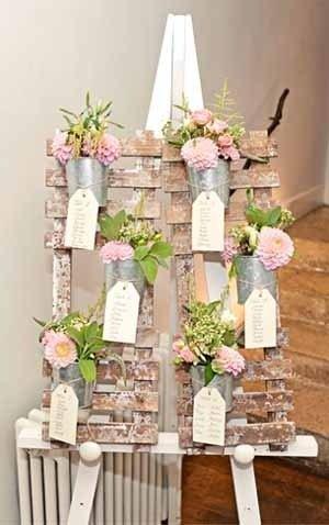 ideas para decorar tu boda con palets de madera