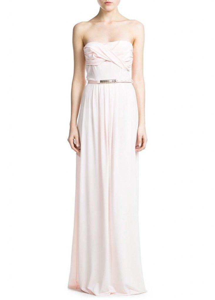 Vestido en rosa pétalo 69.99€
