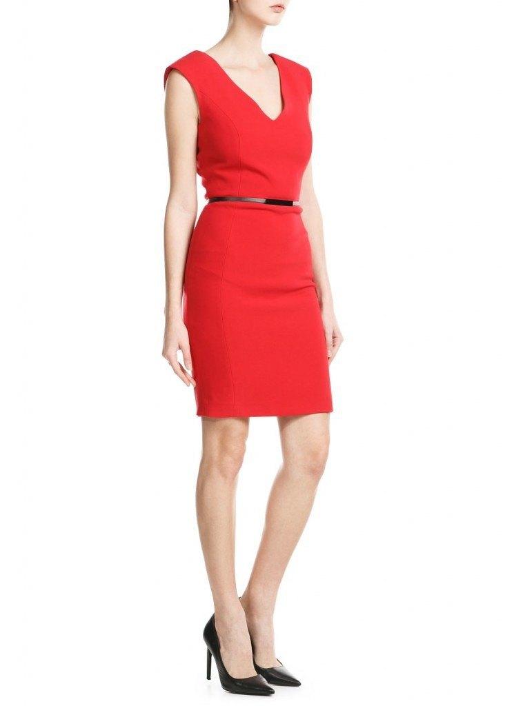 Vestido rojo 39.99€