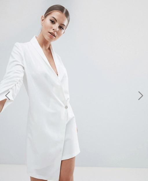 vestido de novia barato estilo esmoquin - Vestidos de Novia Baratos por menos de 100€