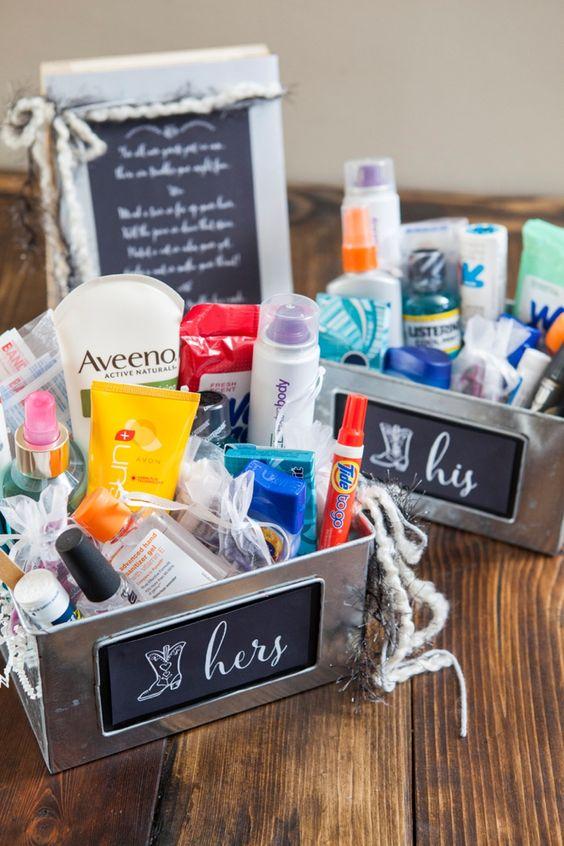 kit para baños boda