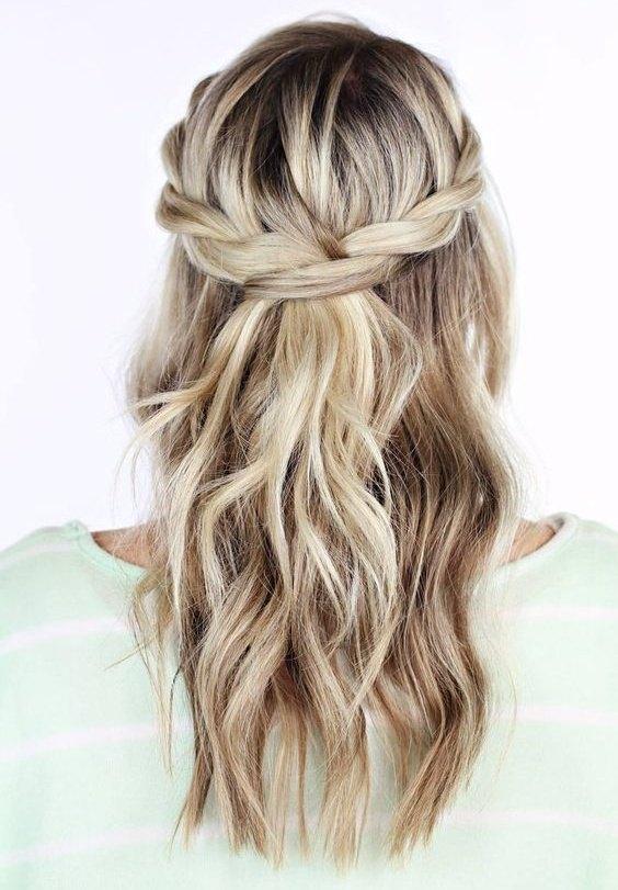 peinados de trenzas fáciles para ir de boda - diario de una novia