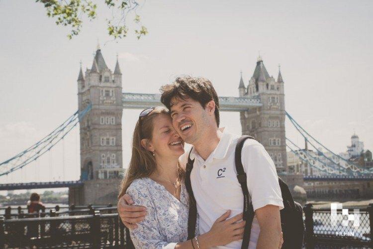 reportaje en Londres