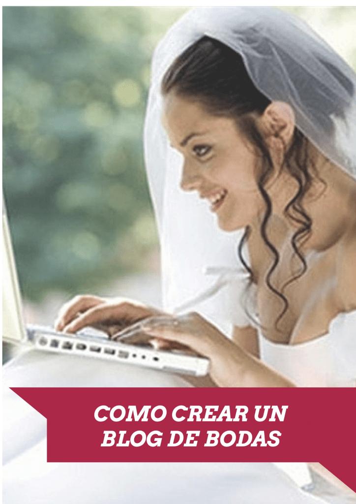 Como crear un blog de bodas