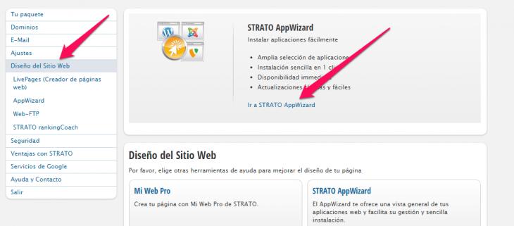 click diseño web