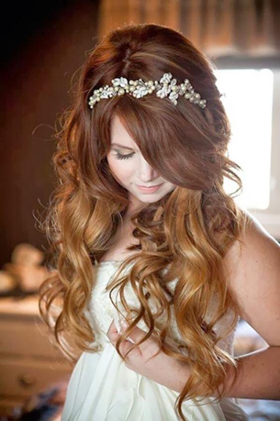 peinados con ondas voluminosas - Peinados Con Tenacillas