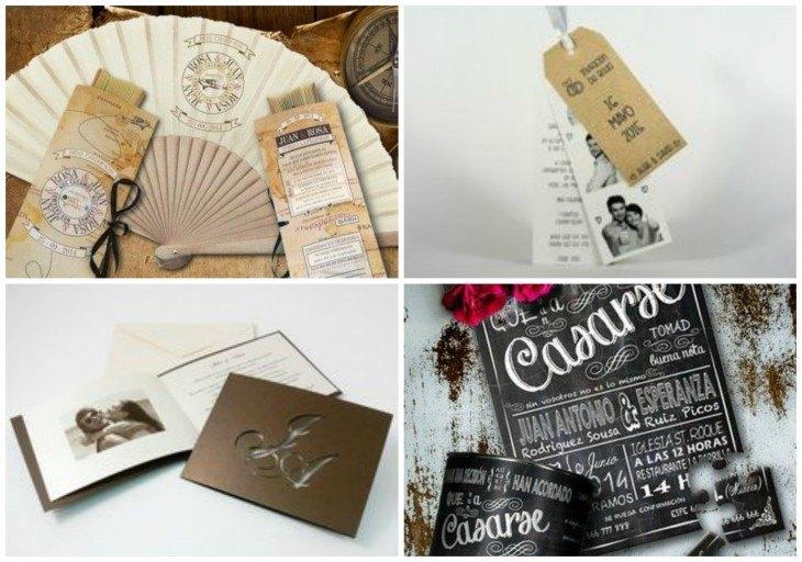 Invitaciones de boda originales y diferentes diario de una novia - Bodas originales ideas ...