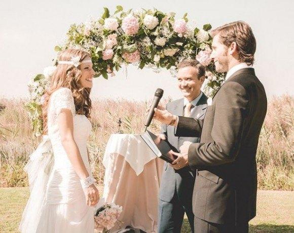 Ceremonia boda rustica