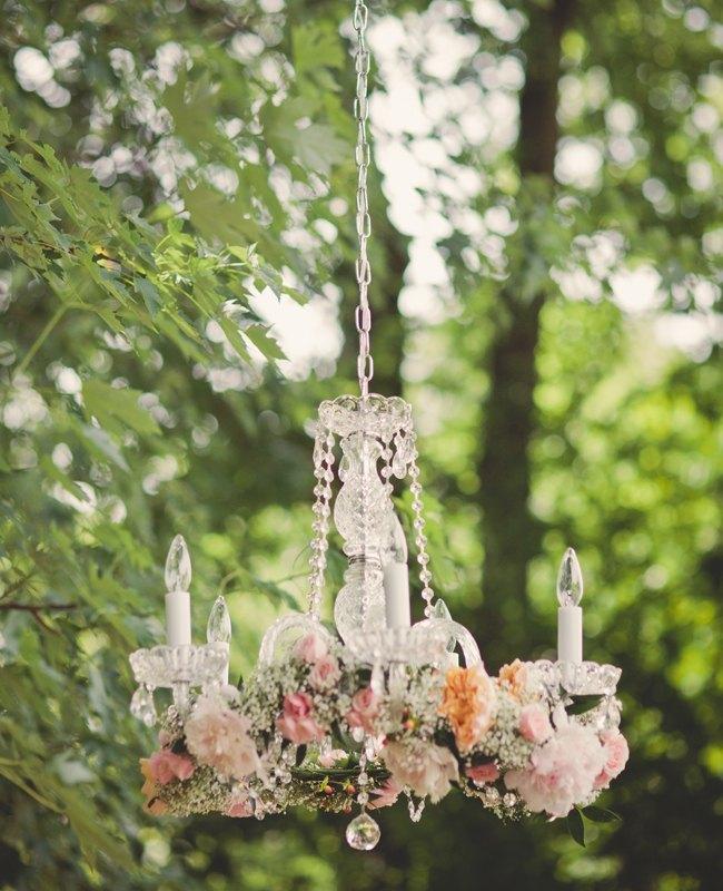 guirnaldas de flores colgantes