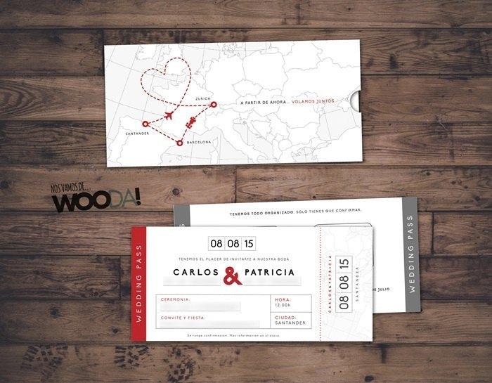 Diseños graficos para bodas