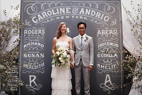 fondos originales para photocall de bodas