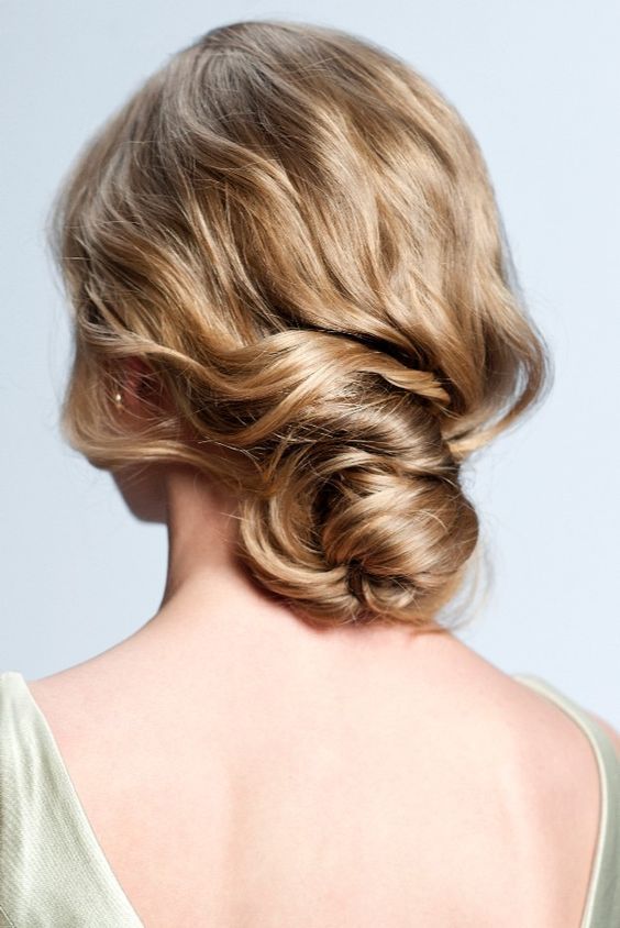 Peinados para bodas desenfadados para invitadas y novias 2 - Peinados y Recogidos para Bodas: Tipos de Recogidos