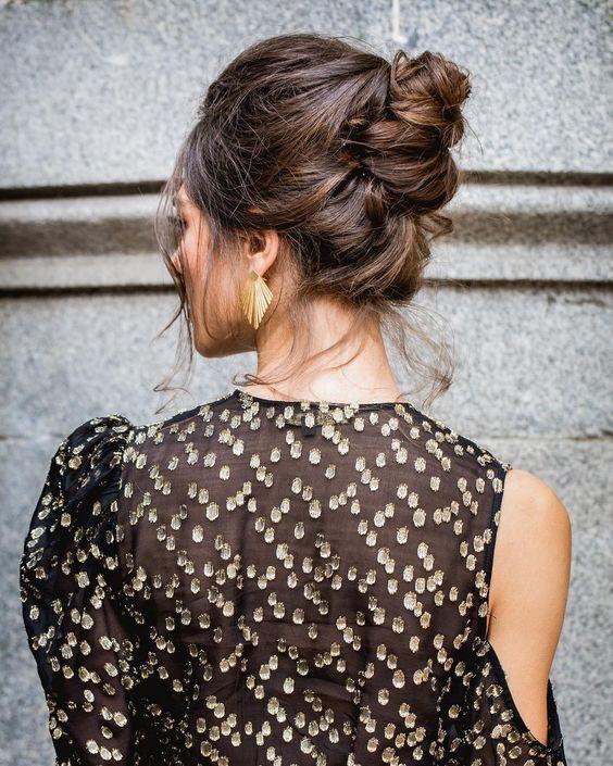 Peinados para bodas desenfadados para invitadas y novias 3 - Peinados y Recogidos para Bodas: Tipos de Recogidos
