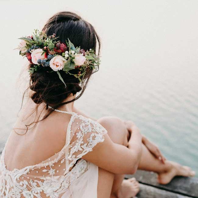Peinados para bodas desenfadados para invitadas y novias 5 - Peinados y Recogidos para Bodas: Tipos de Recogidos