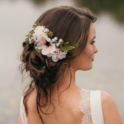 Peinados para bodas desenfadados para invitadas y novias 6 - Peinados y Recogidos para Bodas: Tipos de Recogidos