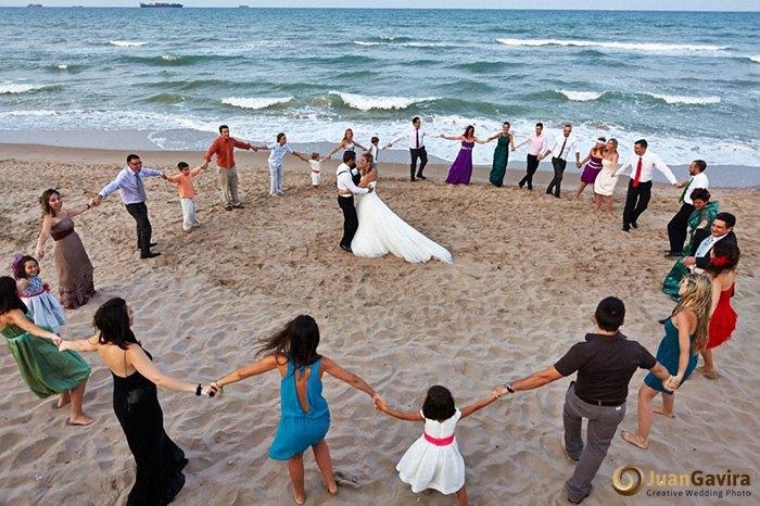 Juan Gavira fotografo de bodas en Valencia playa