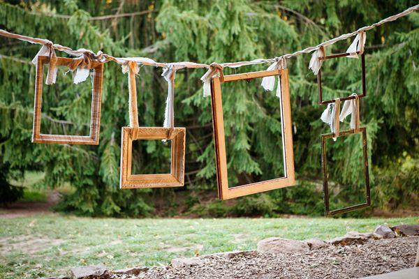 photocall para bodas originales marcos de madera