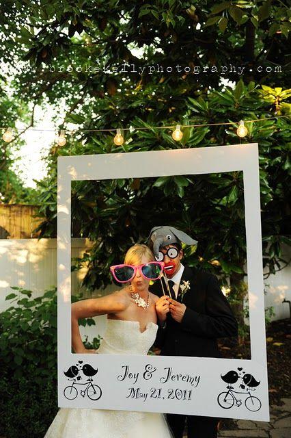 photocall para bodas originales polaroid gigante