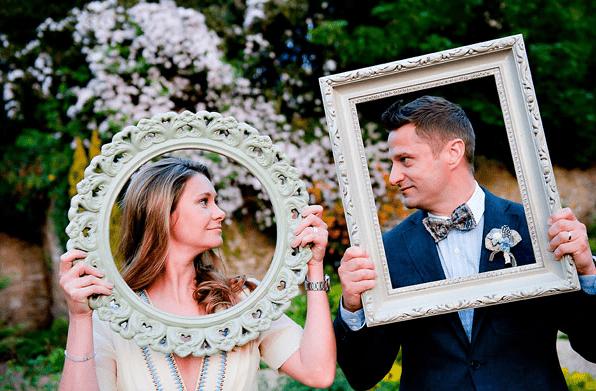 photocall para bodas originales marcos sueltos