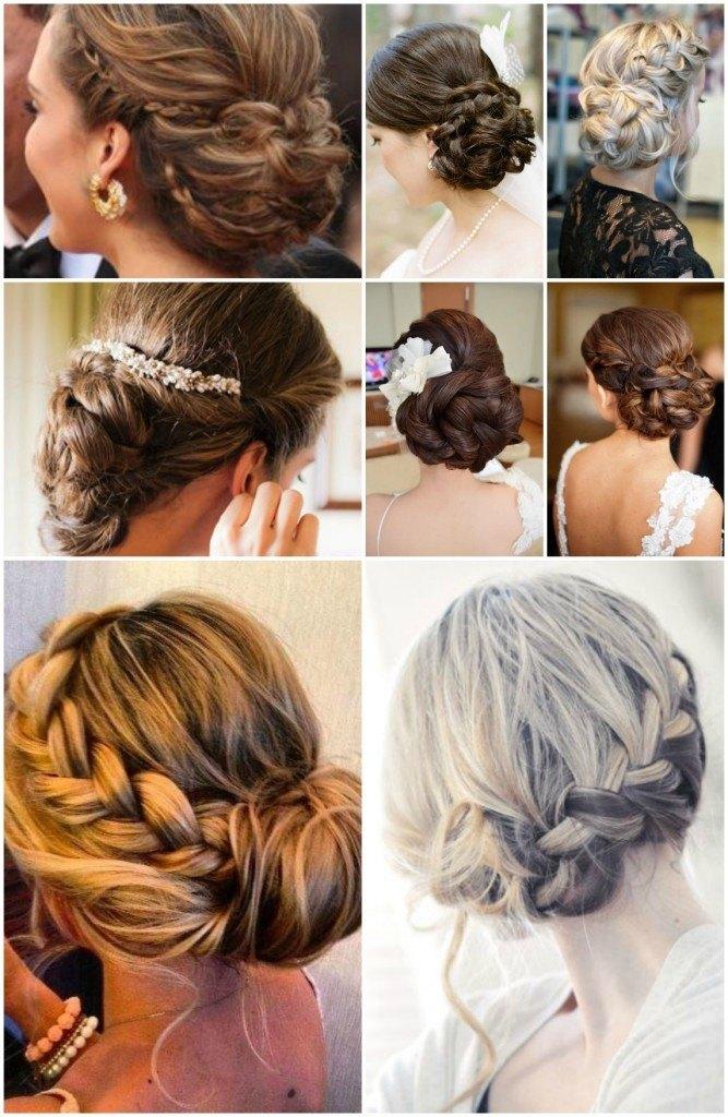 Peinados y recogidos para bodas diario de una novia - Peinados recogidos con trenzas ...
