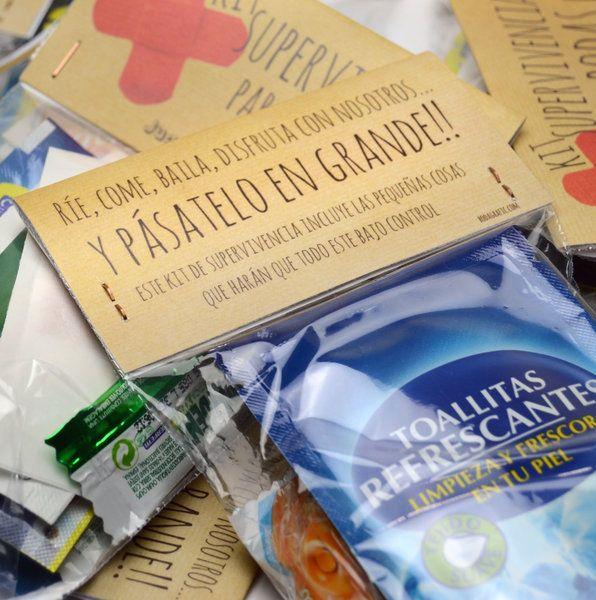 Como hacer un kit de emergencias para despedidas