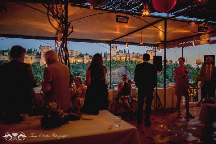 Boda en Granada multicultural y exotica vistas
