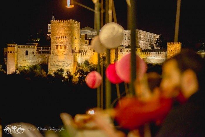 Boda en Granada multicultural y exotica alhambra