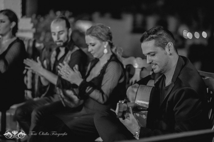 Boda en Granada multicultural y exotica flamenco