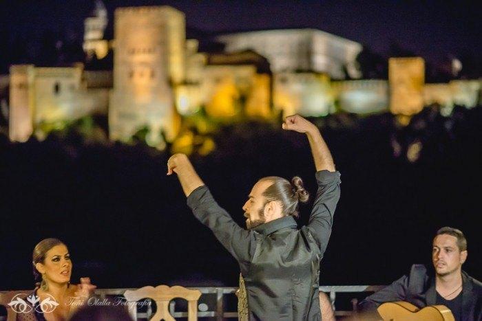 Boda en Granada multicultural y exotica baile