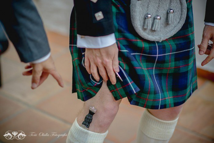 Boda en Granada multicultural y exotica escoces