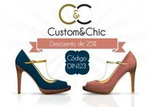 descuento Zapatos Personalizados custom and chic