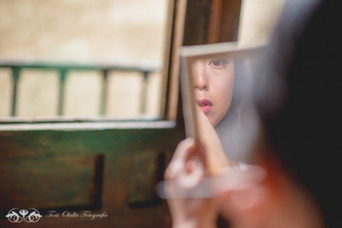Boda en Granada multicultural y exotica maquillaje